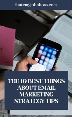 To have a successful email marketing campaign, you must take this seriously and make sure every email you send out is professional and contains valuable information. #emailmarketingtips #emailmarketinghacks #emailmarketingdtrategy