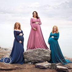 Long Sleeve Maternity Dress, Maternity Gowns, Maternity Session, Newborn Studio, Newborn Essentials, Photography Accessories, Pre Pregnancy, Rainbow Baby, Bridesmaid Dresses