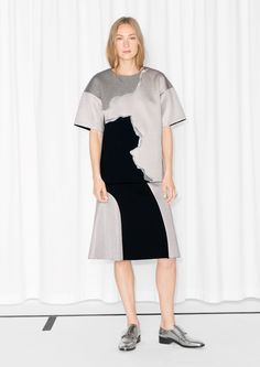& Other Stories | Colour Block Skirt