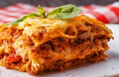 Die besten Lasagne-Rezepte