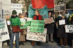 sir Julian Rose oraz protesty pod sejmem RP przeciwko gmo!