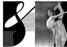 Daniel Brushtin  Typography: Double spread