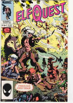 Elf Quest. Still one of the best comics ever!