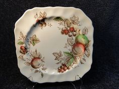 """Johnson Brothers Harvest Time Square Salad Plate 7 3/4"""" NICE! in Pottery & Glass, Pottery & China, China & Dinnerware 