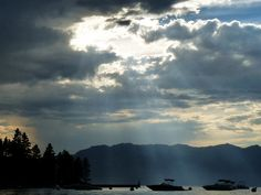 Sunbeams and Boats