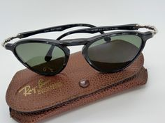 Vintage Ray Ban Gatsby DLX Style 2 W1731 BL Original Sunglasses made in USA by VSOx on Etsy