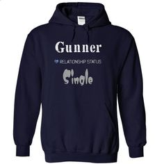 Gunner - #tee tree #tshirt with sayings. PURCHASE NOW => https://www.sunfrog.com/LifeStyle/Gunner-3381-NavyBlue-14618274-Hoodie.html?68278