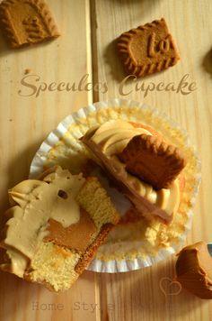 Vanilla Speculoos Cupcake