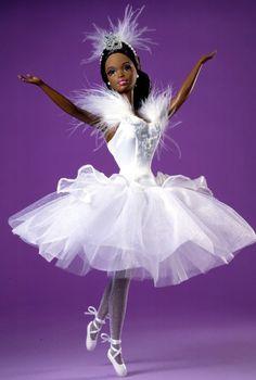 Barbie Doll as the Swan Queen in Swan Lake (African-American)