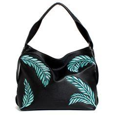 Aimee Kestenberg | Havana Hobo $258 Fashion Handbags, Havana, Handbag Accessories, Purses, Leather, Black, Printing, Women, Style
