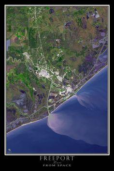 Lake Texoma Texas Oklahoma Satellite Poster Map Texas Lakes - Satellite maps texas