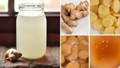 Getting Rid Of Migraines, How To Relieve Migraines, Ginger Drink Recipe, Homemade Ginger Ale, Healthy Holistic Living, Healthy Living, Ginger Water, Water Recipes, Health Remedies