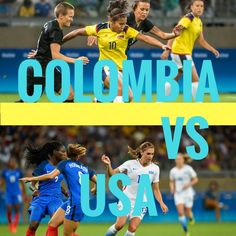 Colombia vs USA  #olympics #olympics2016 #rio2016 #soccer #football #futebol #uswnt #usa #colombia