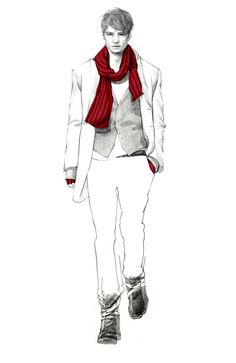 connie hy kim: illustrator | fashion for guys