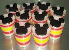 Mini Gelatinas Mickey Mouse!!!