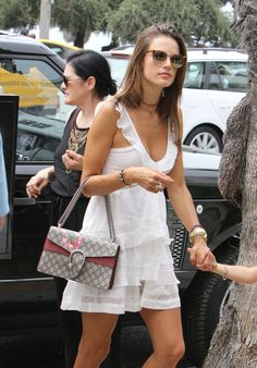 Alessandra Ambrosio - Out For a Lunch in Santa Monica, August 2015