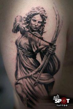 Athena 2 Tattoo