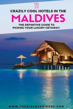 Going on your honeymoon or simply looking for an island escape- Check out these top Maldives resorts for an unforgettable getaway. Whether you're looking for water villas or beaches, click to read for travel inspiration