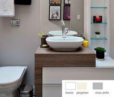 Dez pares de pia e vaso sanitário para você escolher o seu - Casa