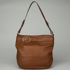 NEW GUCCI Brown Leather Large Hobo Handbag $1595 FL829 Buy It Now $949.00