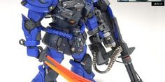 ihaveyen's AMAZING MG 1/100 GOUF CUSTOM 2.0 Frame + Conversion Kit: Full Photoreview and W.I.P. too