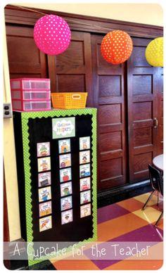 A Cupcake for the Teacher: My Classroom! My Classroom!