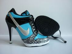 Nike high heels... i need these..