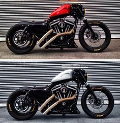 before and after. dyna superglide. | custom harleys | pinterest