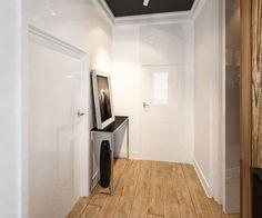 Cool Apartment Ideas Blending Wood Into Black And White Interior - Cool apartment ideas blending wood black white interior design decor
