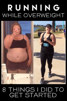 Running while overweight isn't impossible! All you need is a plan! Here are the 8 steps I took when I got started. These tips can help you become a better runner and even aid in weight loss. Even better - they're all beginner friendly! Quick Weight Loss Tips, Weight Loss Meals, Losing Weight Tips, Weight Loss Program, How To Lose Weight Fast, Weight Gain, Reduce Weight, Running For Beginners, How To Start Running