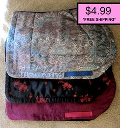 Quilted All Purpose English Saddle Pad Sewing Pattern Printable with Instructions and Girth Strap - Equestrian