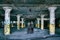 Detroit – Des personnages du passé insérés dans les lieux abandonnés de Detroit