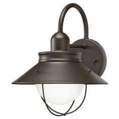"View the Miseno MLIT39455 12"" Single Light Barn Style Outdoor Wall Sconce at LightingDirect.com."