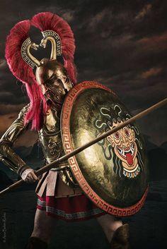 Greek History, Ancient History, Ancient Greek Clothing, Greek Soldier, Son Of Zeus, Greek Warrior, Spartan Warrior, Mycenaean, Fantasy Armor