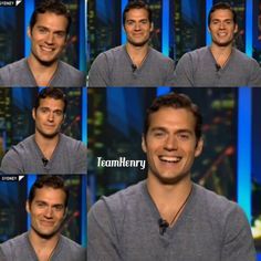 Screen caps from 'The Project' Sydney morning show collage via Team Henry Cavill FB