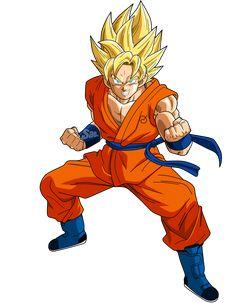 Goku SSJ Power 2 by SaoDVD on DeviantArt