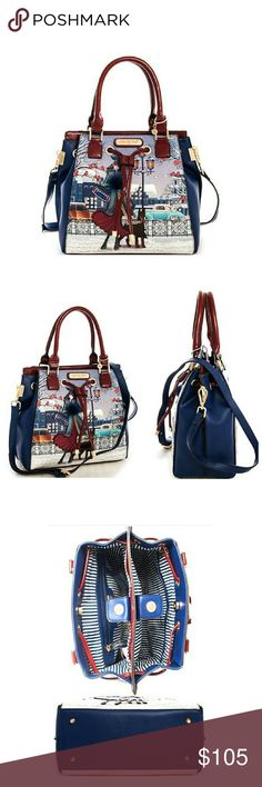 Nicole Lee Joanna loves snow satchel bag winter Perfect for Winter!   Sorry, NO TRADES  Price firm unless bundled   Save money and bundle! Save 10 percent on any bundle of 2 or more items! Nicole Lee Bags Satchels