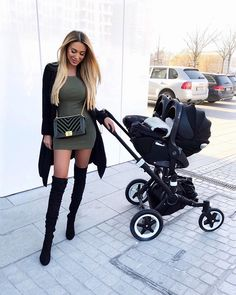 We're waiting for you spring ❤️ Girls Fashion Clothes, Girl Fashion, Fashion Outfits, Pregnancy Outfits, Mom Outfits, Baby Girl Strollers, Twin Strollers, Cute Mixed Kids, Baby Chanel