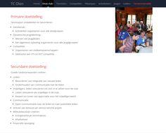 TC Olen website informatie - beleidsplan
