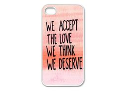 Apple iPhone 4 4G 4S 5 5G Inspirational Retro Hipster Quote  Design Cover Case Skin