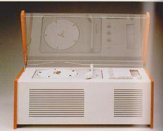 Braun phonosuper radiogrammofoon 1956