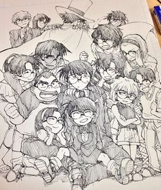 pixiv is an illustration community service where you can post and enjoy creative work. A large variety of work is uploaded, and user-organized contests are frequently held as well. Manga Anime, Dc Anime, Anime Art, Magic Kaito, Detective Conan, Gosho Aoyama, Kaito Kid, Kudo Shinichi, Anime Style