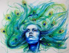 Mlle. Euphorie.: Que el Arte no tiene edad, mirad a Chiara Aime.