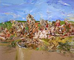 Cecily Brown, Red Rum, 2001