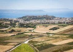Nice view in Gozo from the tower of Nadur