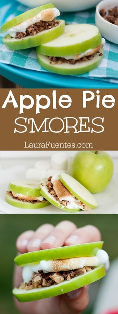 Reinventing S'mores with these Apple Pie S'mores. Gooey, sticky, and perfectly crunchy and delicious you have to try them!