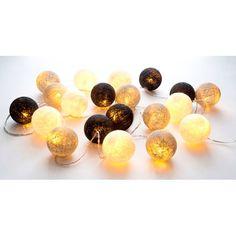 LED Ljusslinga Lysa 20 bollar Blandade färger - Ljusslingor - Rusta