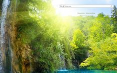 Waterfall Theme from ShinySearch