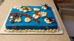 Disney planes themed cake