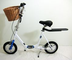 Walking aid by Walk Aid Scooter walking aid--a new twist on personal mobility.